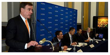U.S. Senator Mark Warner (D-VA) Delivers Remarks during IoE Event